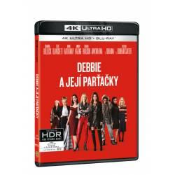 Blu-ray Debbie a její parťačky, UHD + BD, CZ dabing