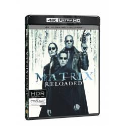 Blu-ray Matrix: Reloaded, UHD + BD + bonus disk, CZ dabing