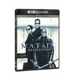 Blu-ray Matrix: Revolutions, UHD + BD + bonus disk, CZ dabing