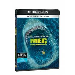 Blu-ray Meg: Montrum z hlubin, UHD + BD, CZ dabing
