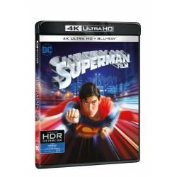 Blu-ray Superman, UHD + BD, CZ titulky
