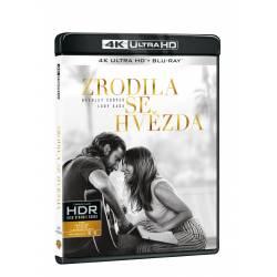 Blu-ray Zrodila se hvězda, UHD + BD, CZ dabing