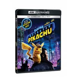 Blu-ray Pokémon: Detektiv Pikachu, UHD + BD, CZ dabing