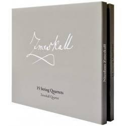 CD/DVD Audio 5 kanál Nicolaus Zmeskall - 15 String Quartets, 3CD/DVD Audio