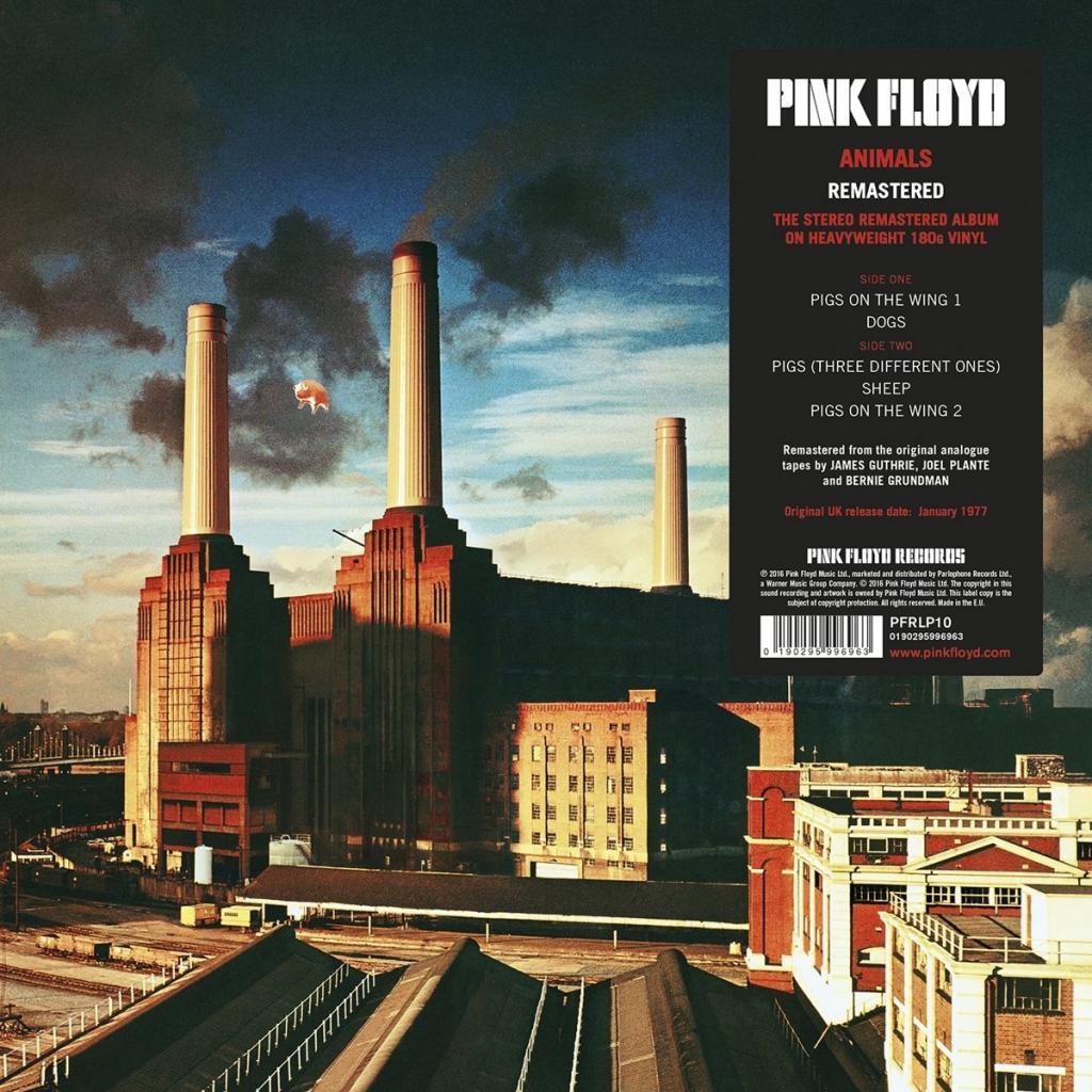 Vinyl Pink Floyd - Animals, Pig, 2016, 180g, HQ