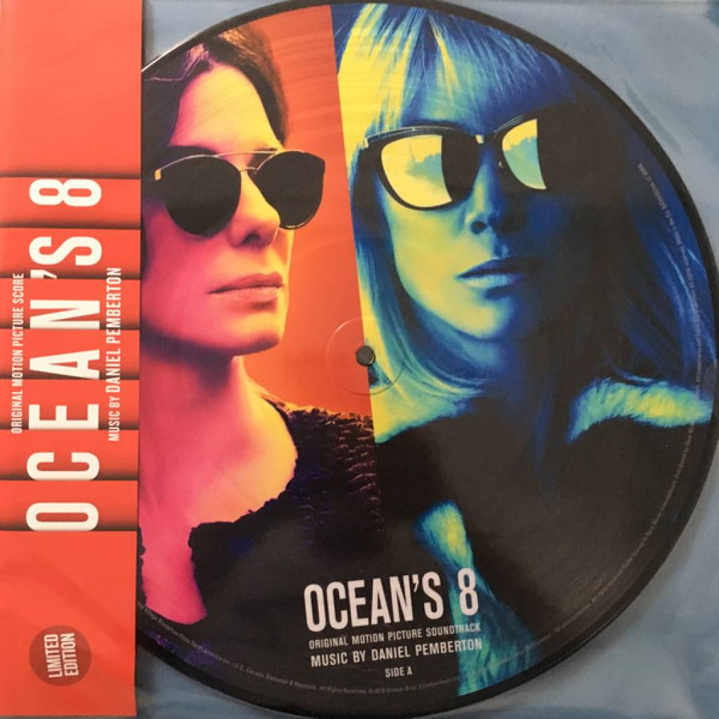 Vinyl Soundtrack - Ocean's 8, Sony Classical, 2018, 2LP, Picture vinyl