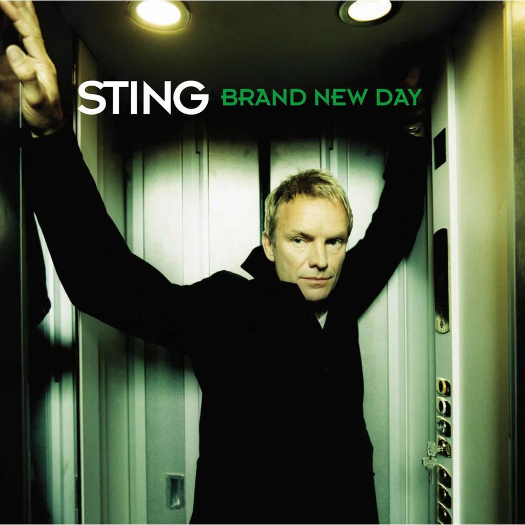 Vinyl Sting - Brand New Day, A&M, 2016, 2LP, 180g