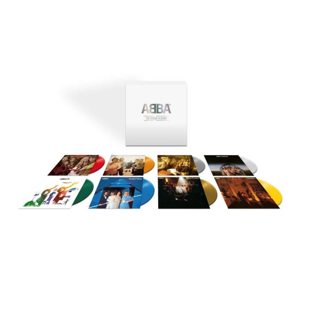 Vinyl / LP box ABBA - Studio Albums, Universal, 2020, 8LP Box Set