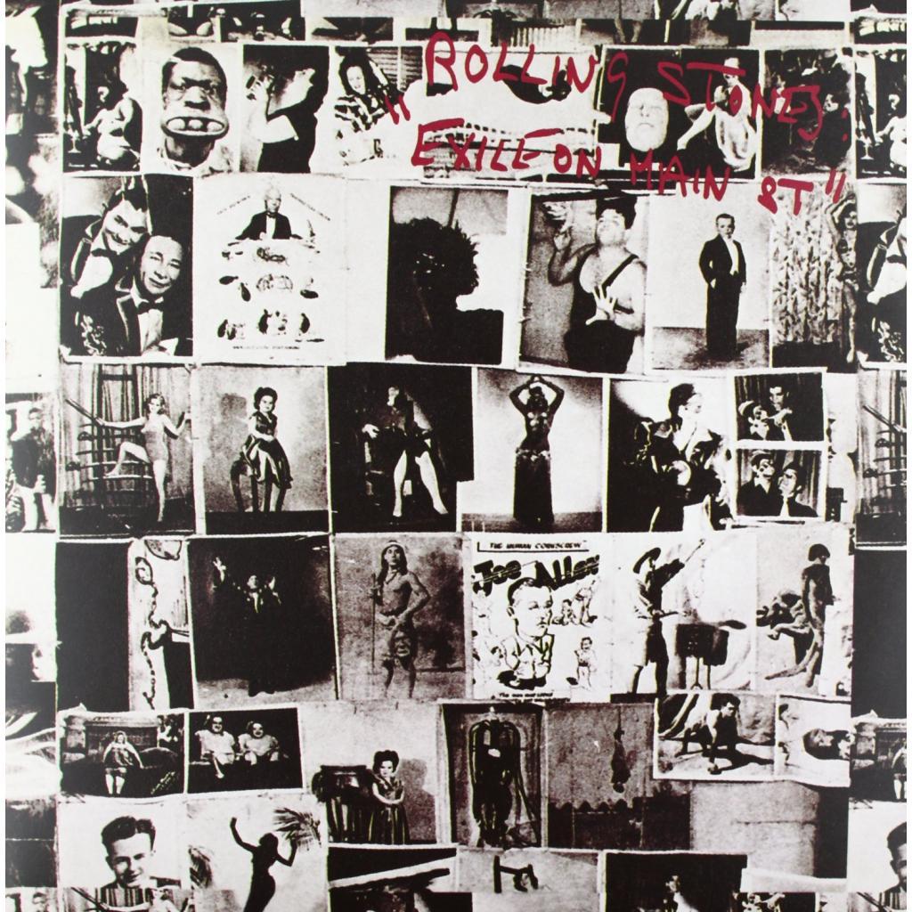 Vinyl Rolling Stones - Exile on Main Street, Polydor, 2010, 2LP