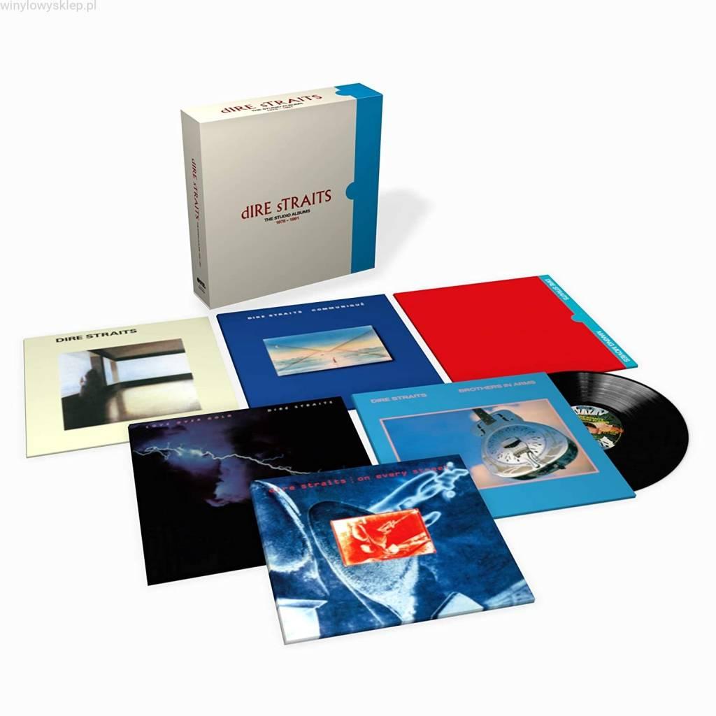 Vinyl / LP box Dire Straits – Studio Albums 1978 – 1991, Mercury, 2020, 8LP, Box set