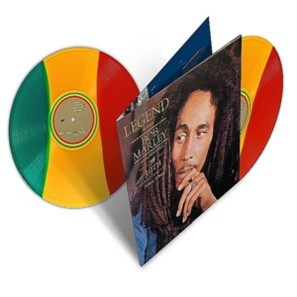 Vinyl Bob Marley – Legend, Universal, 2018, 2LP, 30th Anniversary Edition, Coloured Vinyl
