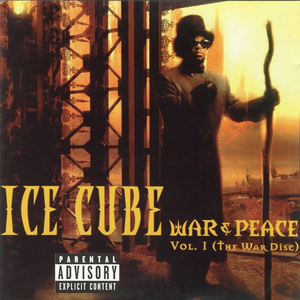 Vinyl ICE CUBE – War & Peace vol. 1, Priority, 2016, 2LP, USA