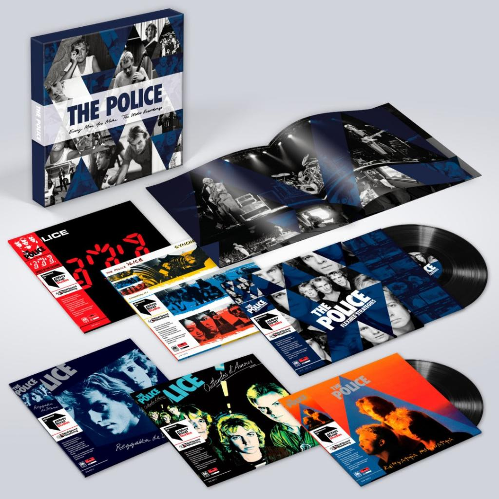 Vinyl / LP box Police - Every Move You Make: the Studio Recordings, A&M, 2018, 6LP, 180g, Box Set, Limited Edition, Halfspeed Remastered