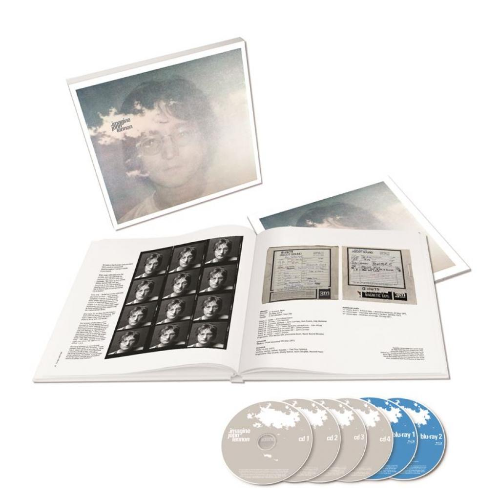 Vinyl/Blu-ray/CD John Lennon - Imagine the Ultimate Collection, Universal, 2018, Limited Edition, Box Set, 4 CD + 2 Blu-ray