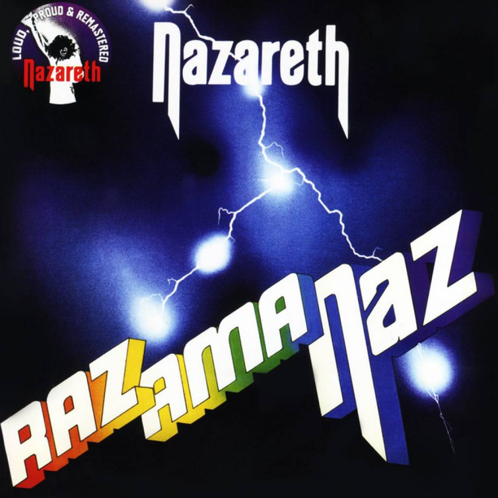 Vinyl Nazareth – Razamanaz, Salvo, 2019, Limited Edition, Coloured Yellow Vinyl