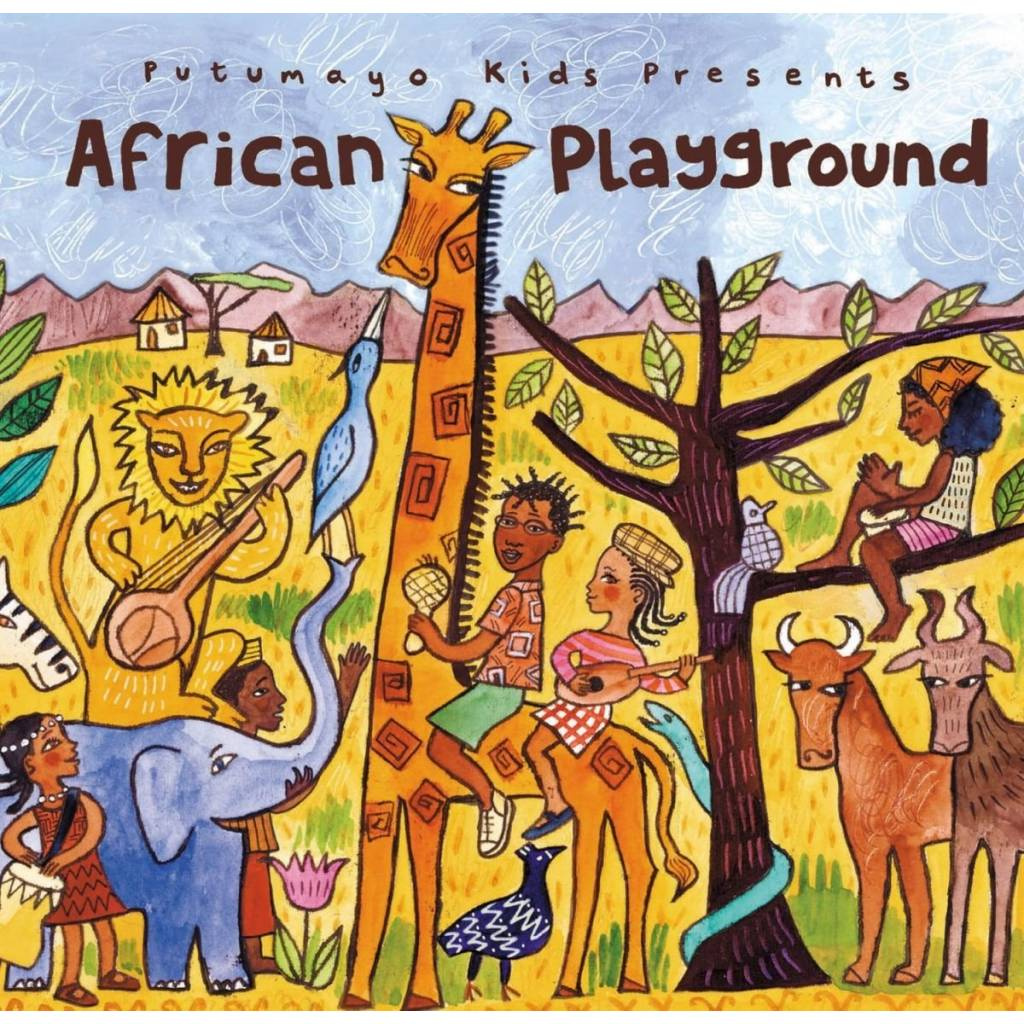 CD African Playground, Putumayo World Music, 2015