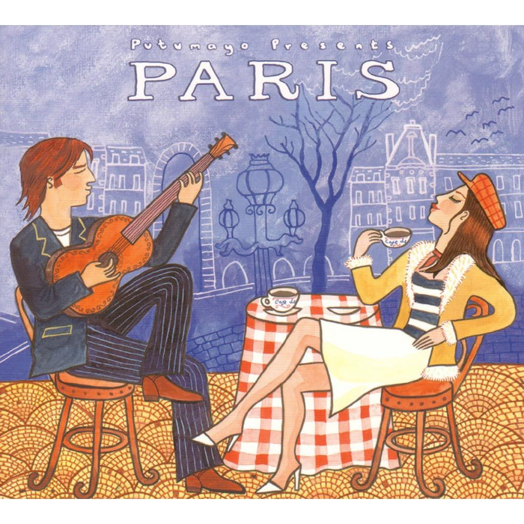 CD Paris, Putumayo World Music, 2015, 12 tracks