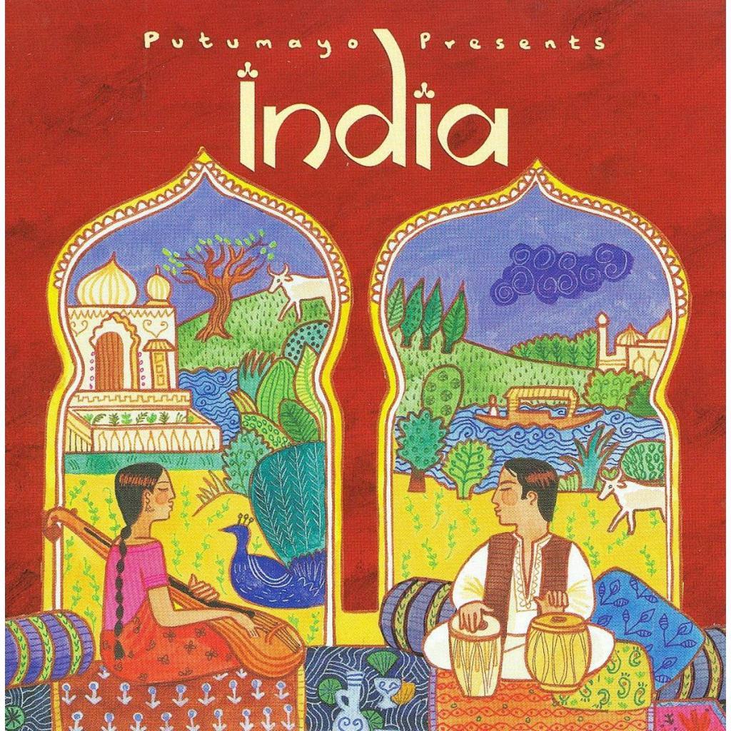 CD India, Putumayo World Music, 2015