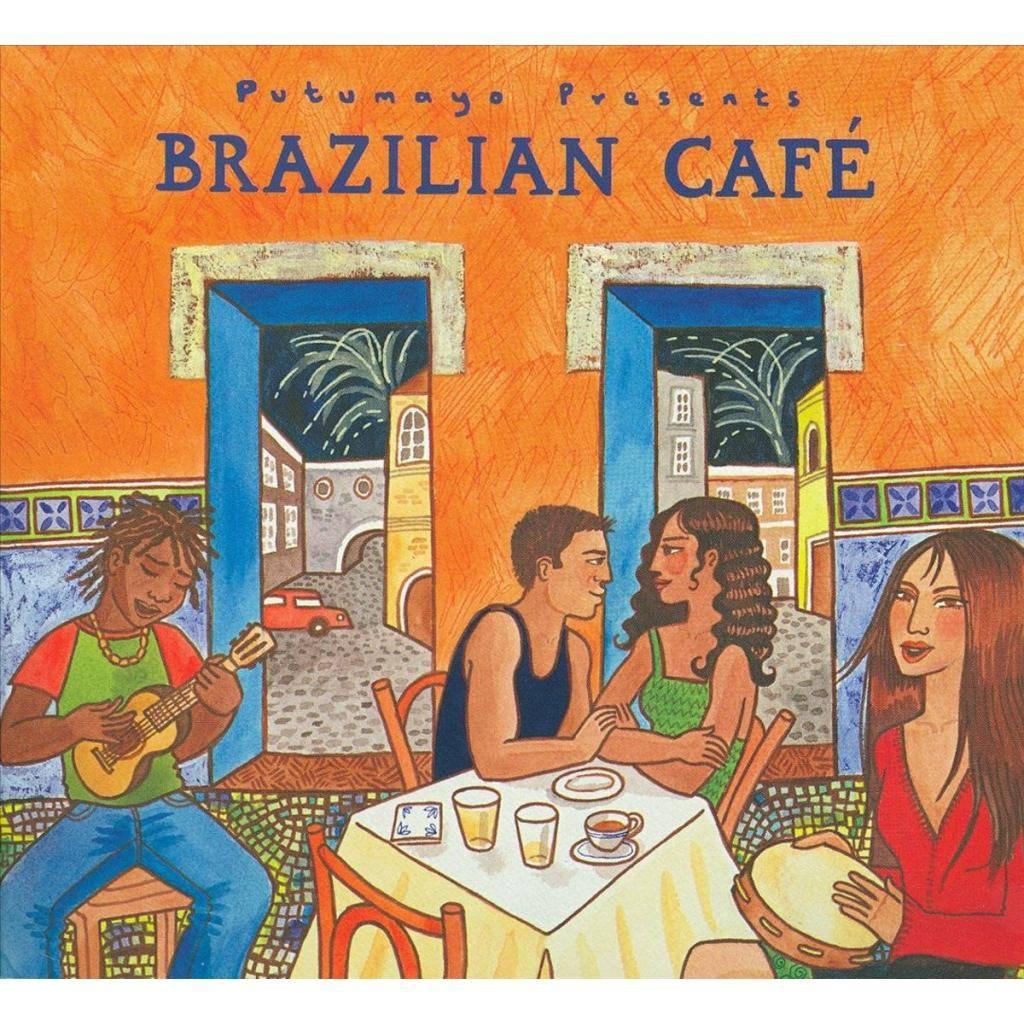 CD Brazilian Café, Putumayo World Music, 2015