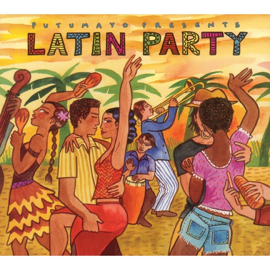 CD Latin Party, Putumayo World Music, 2015