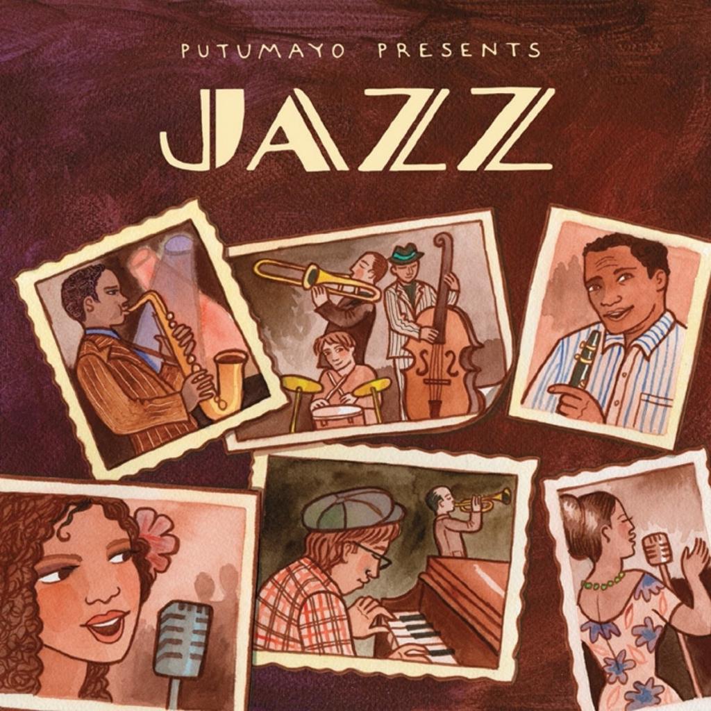 CD Jazz, Putumayo World Music, 2015