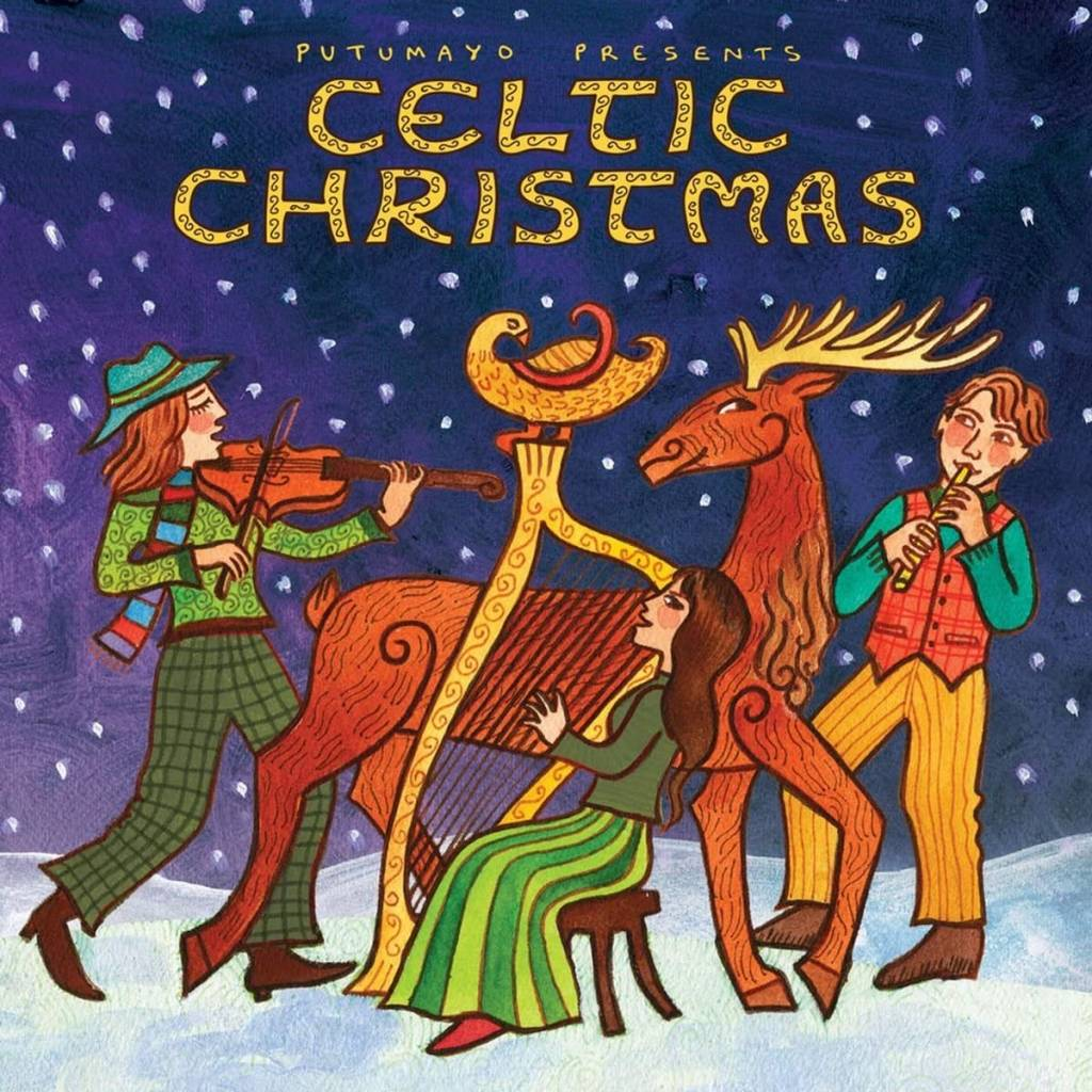 CD Celtic Christmas, Putumayo World Music, 2018