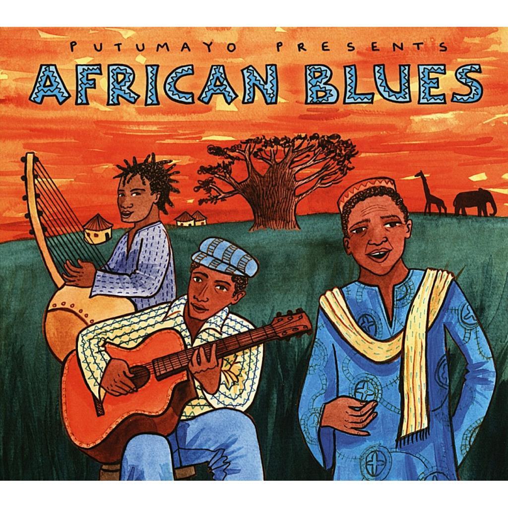 CD African Blues, Putumayo World Music, 2015