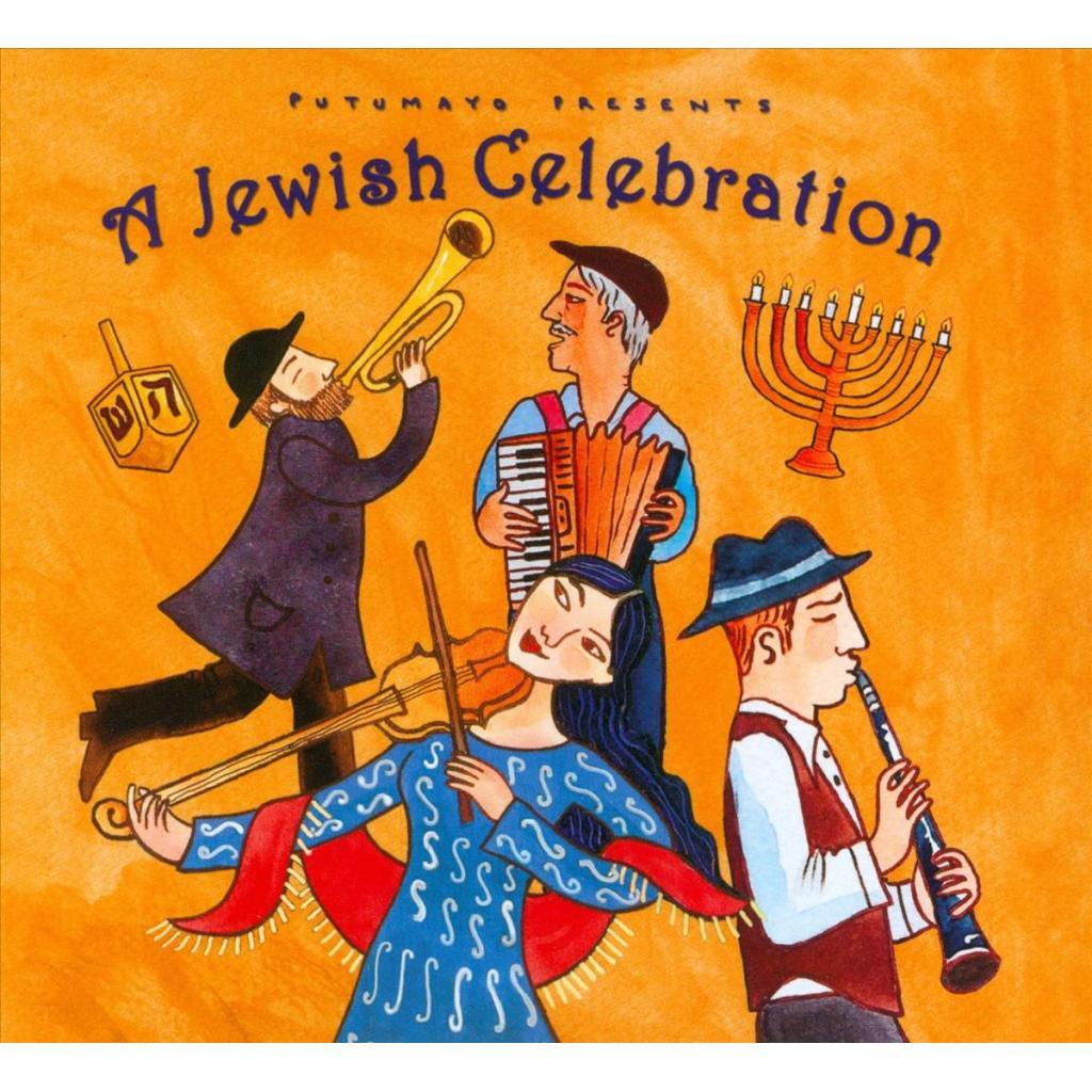 CD Jewish Celebration, Putumayo World Music, 2015