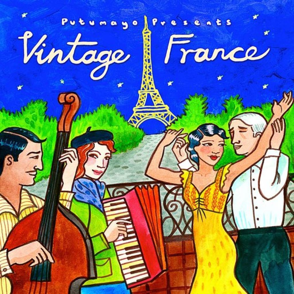 CD Vintage France, Putumayo World Music, 2015
