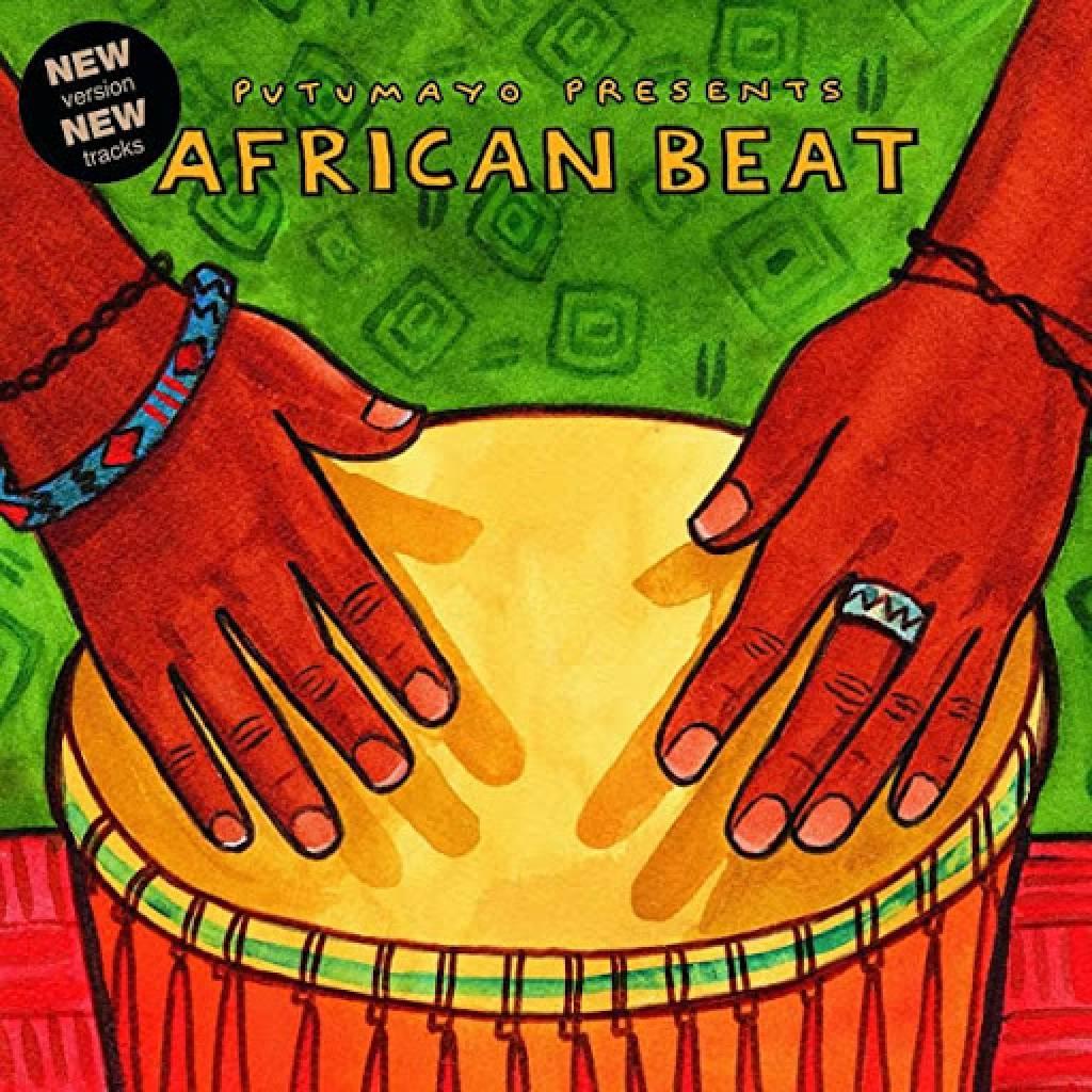 CD African Beat, Putumayo World Music, 2015, 3 bonusové skladby