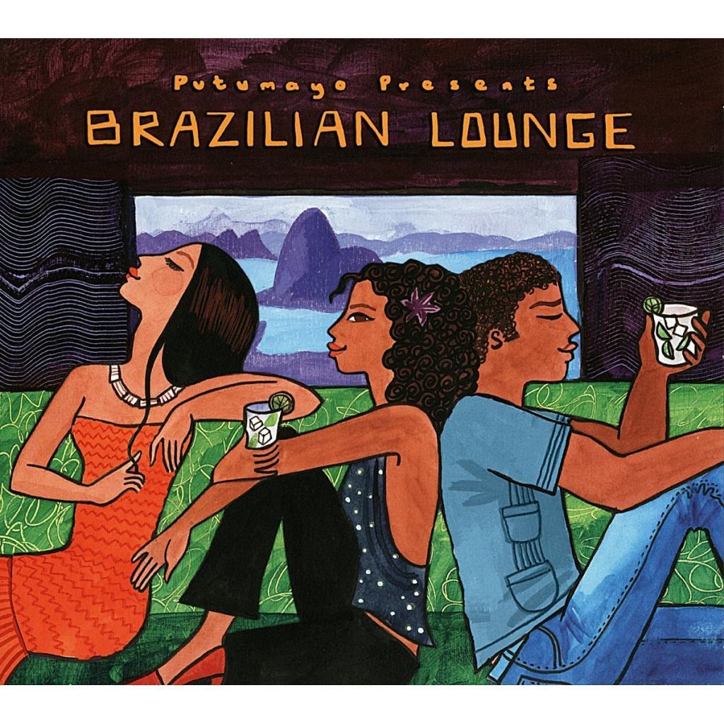 CD Brazilian Lounge - New Tracks, Putumayo World Music, 2015