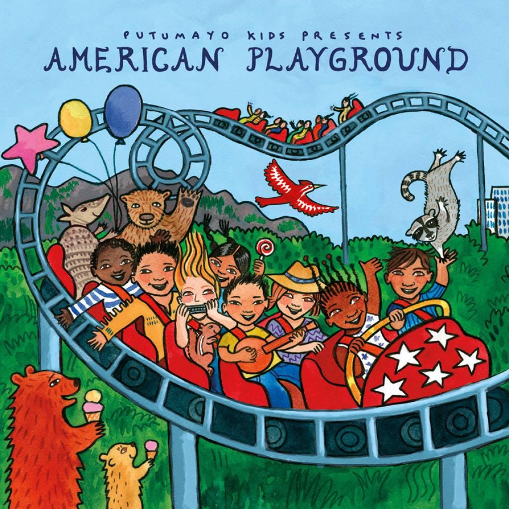 CD American Playground, Putumayo World Music, 2015