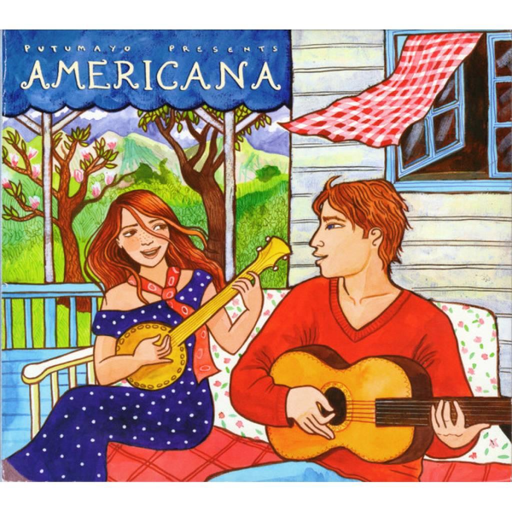 CD Americana, Putumayo World Music, 2015