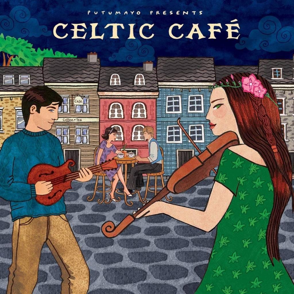 CD Celtic Café, Putumayo World Music, 2015