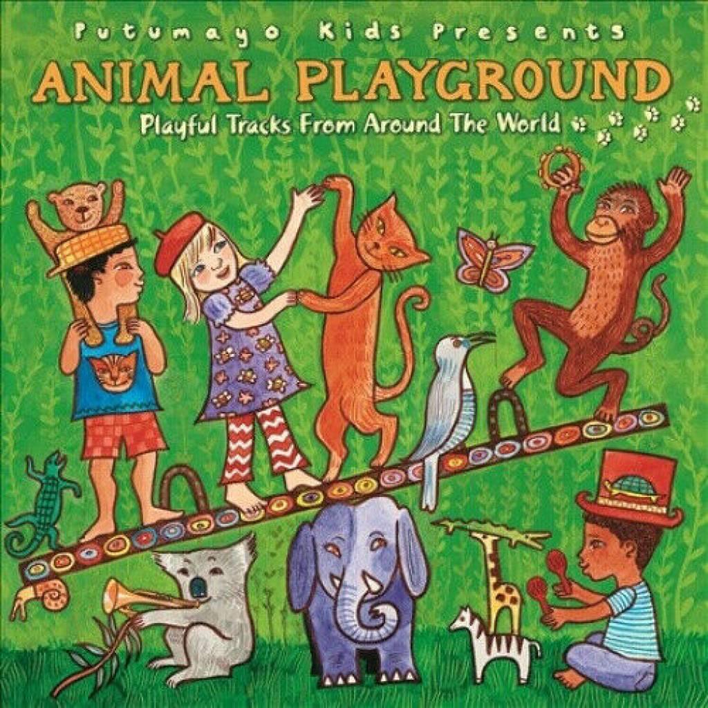 CD Animal Playground, Putumayo World Music, 2015