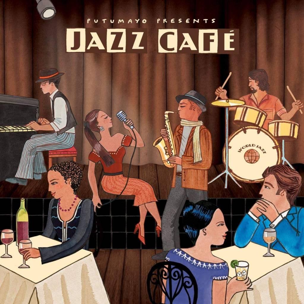 CD Jazz Café, Putumayo World Music, 2016