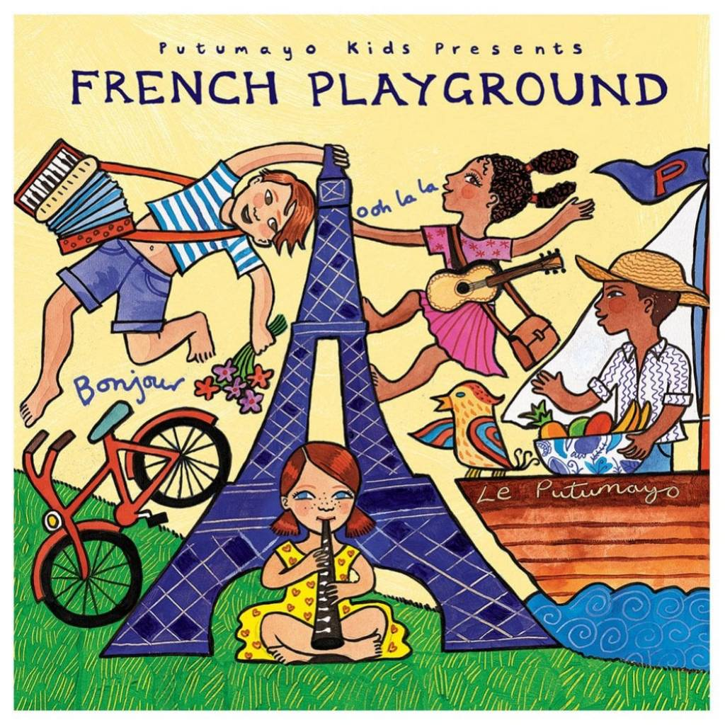 CD French Playground, Putumayo World Music, 2016
