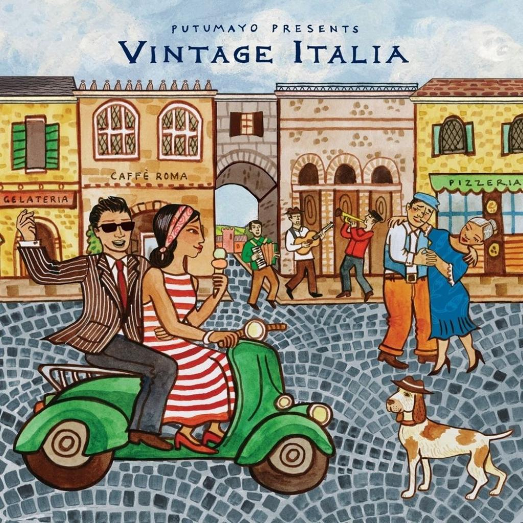 CD Vintage Italia, Putumayo World Music, 2017