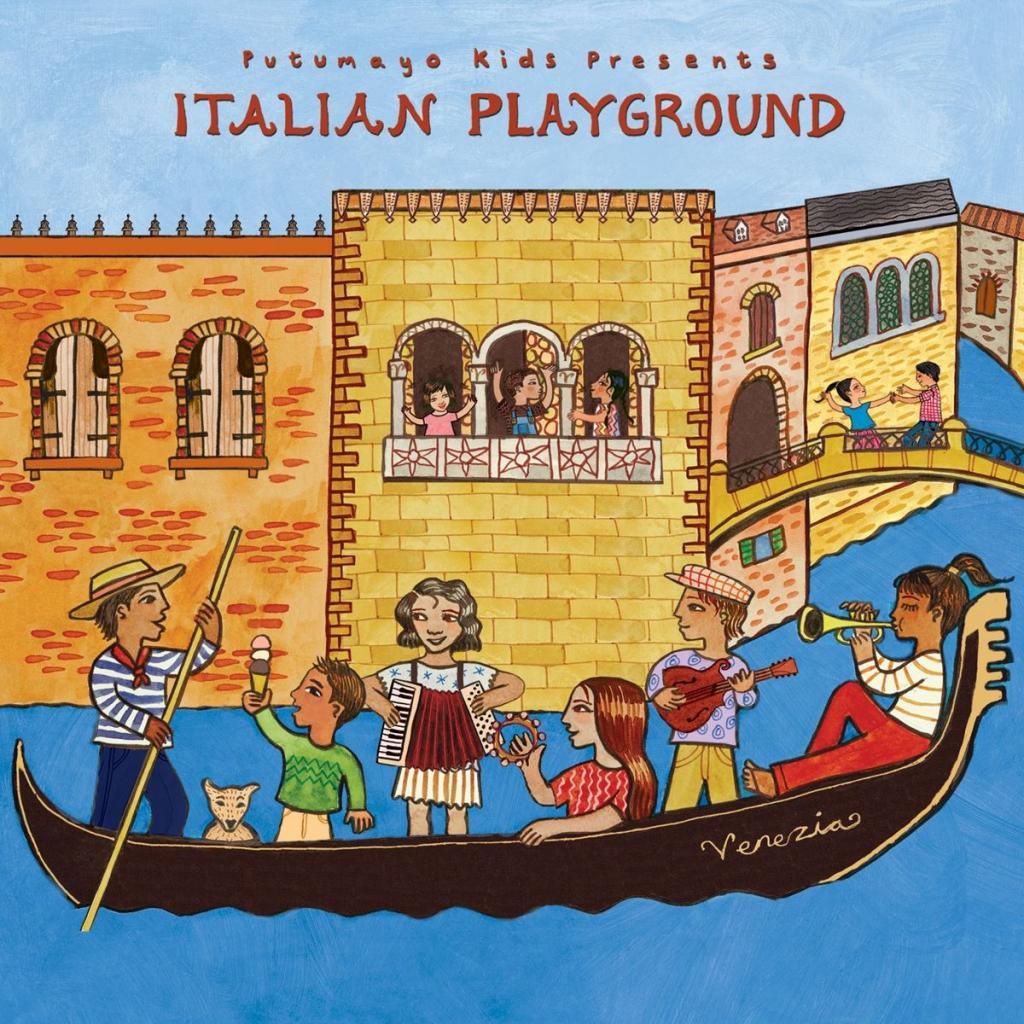 CD Italian Playground, Putumayo World Music, 2017