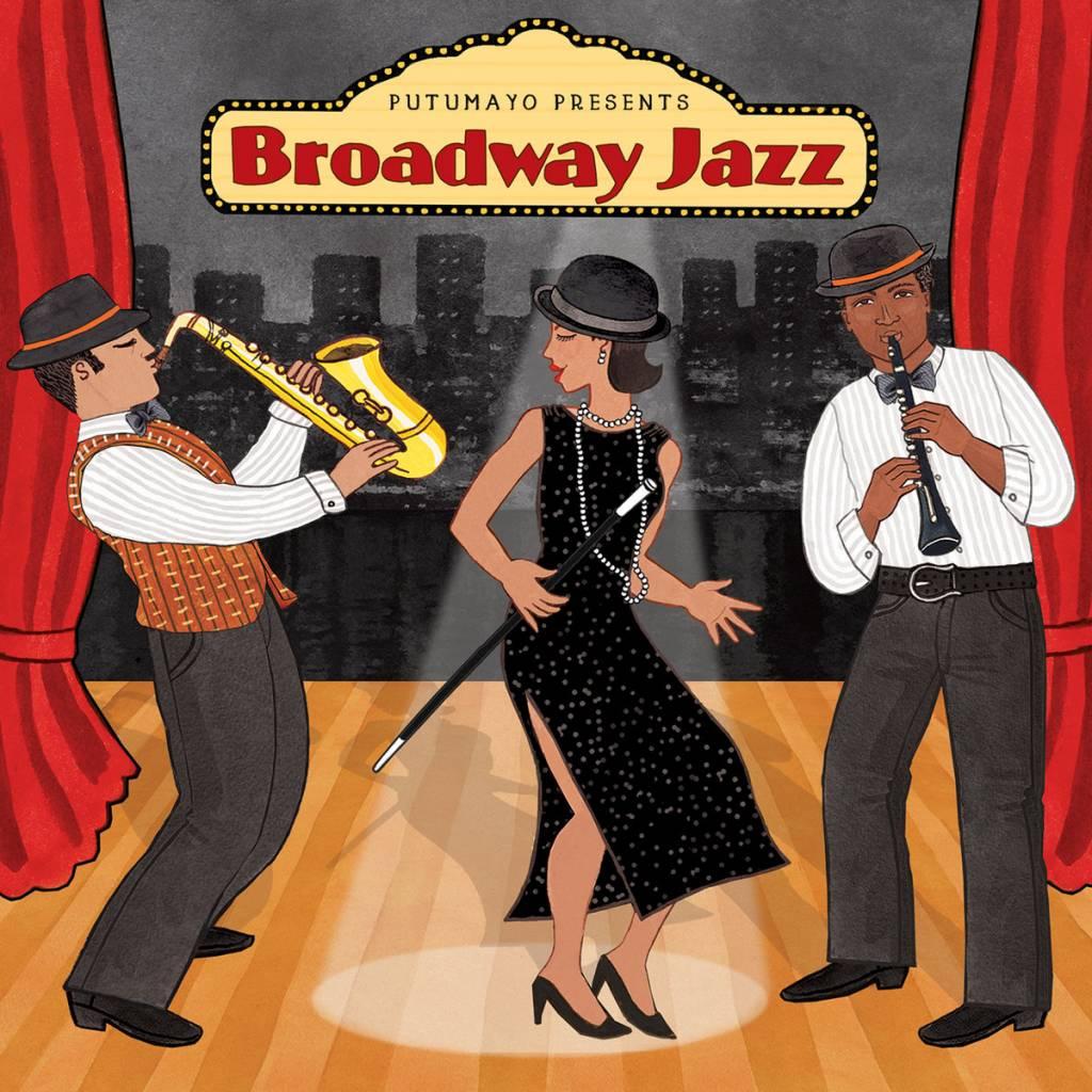 CD Broadway Jazz, Putumayo World Music, 2019