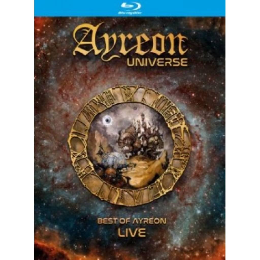 Blu-ray Ayreon - Ayreon Universe: Best of Ayreon Live, Music Theories Recordings, 2018
