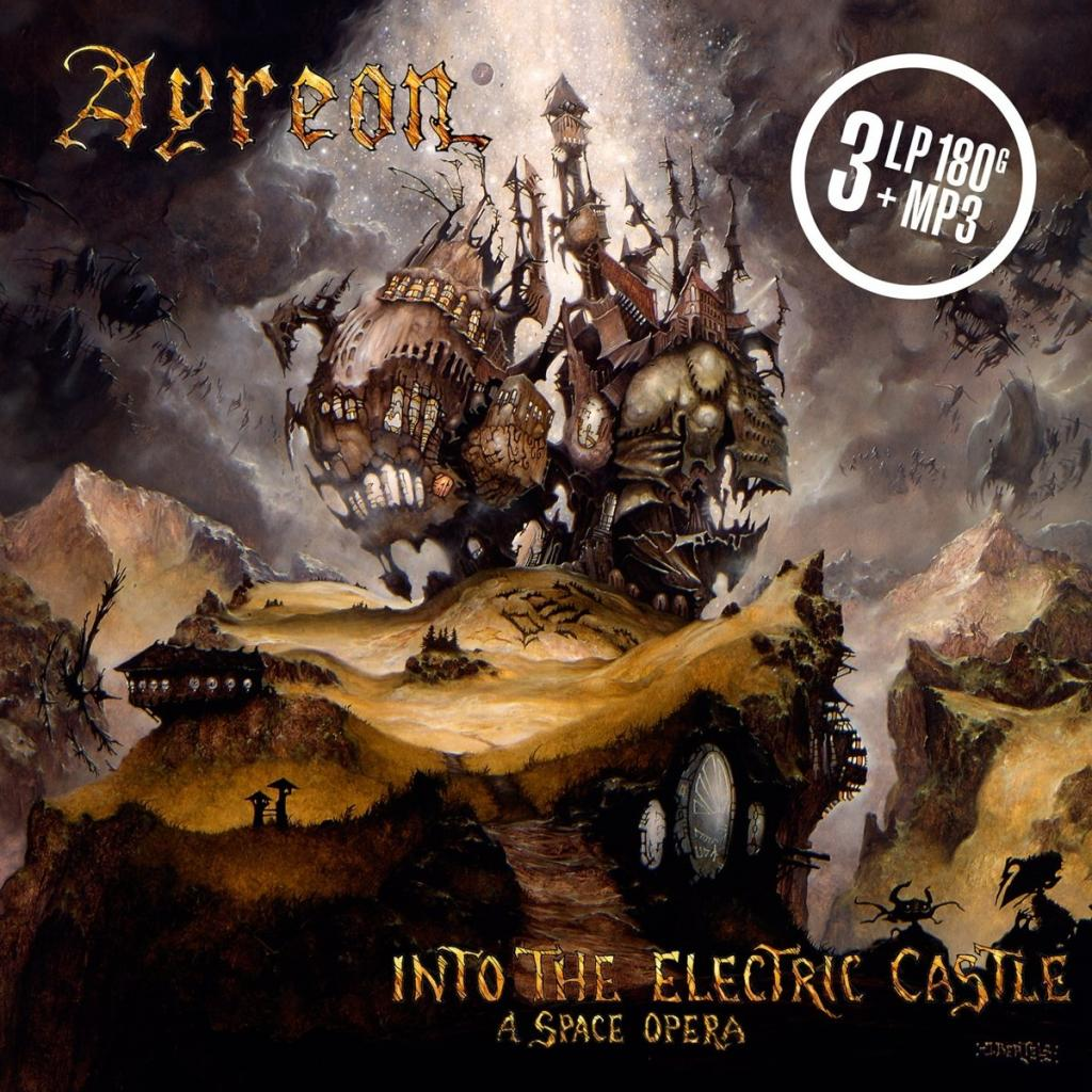 Vinyl Ayreon – Into The Electric Castle, Music Theories Recordings, 2018, 3LP, 180g, HQ, Gatefold Sleeve