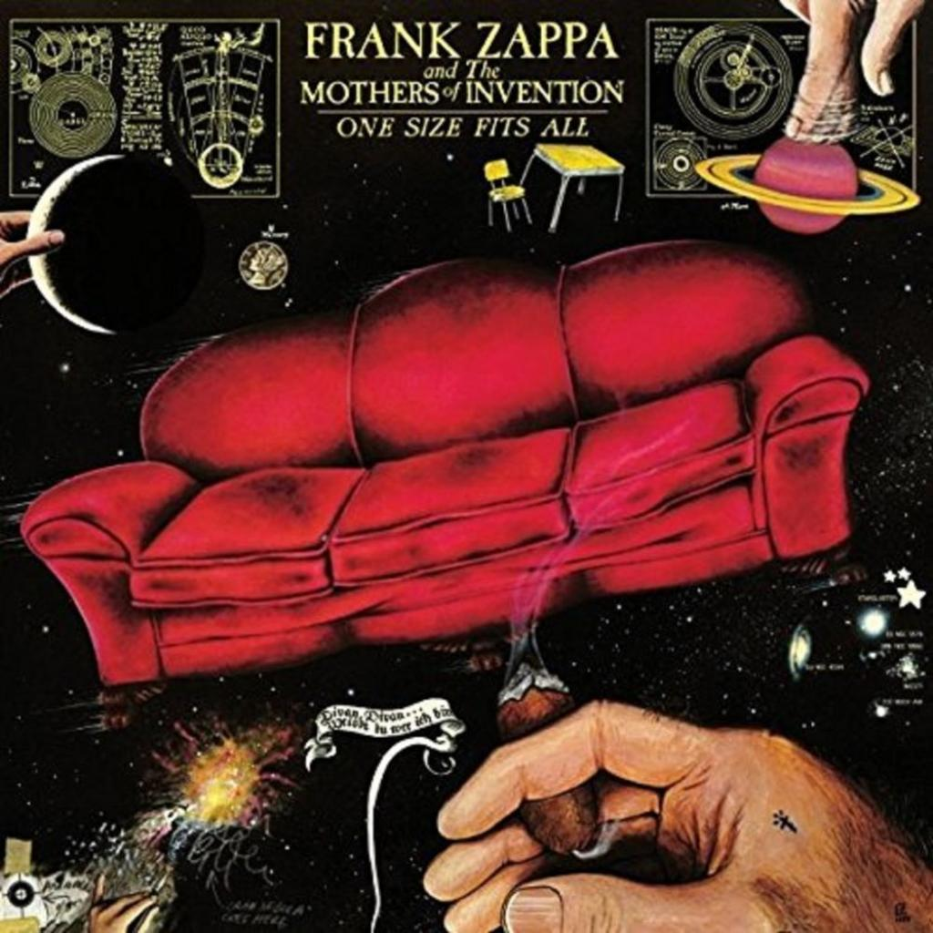 Vinyl Frank Zappa - One Size Fits All, Universal, 2015