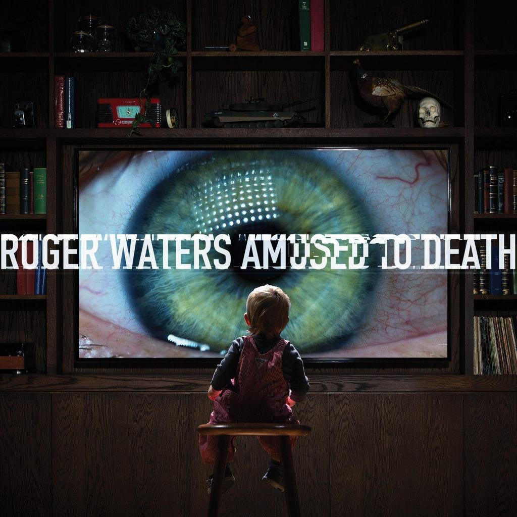 CD Roger Waters - Amused to Death, Columbia, 2015