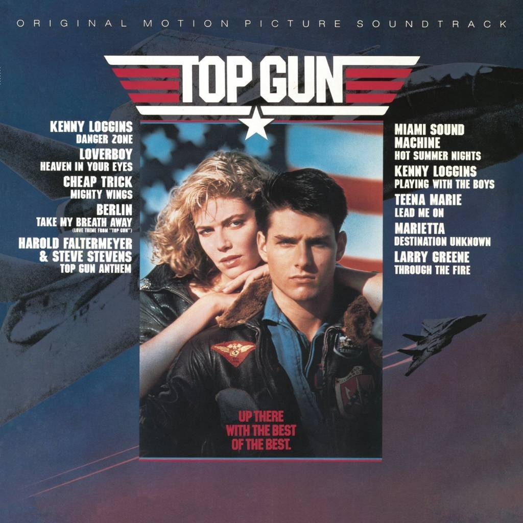 Vinyl Soundtrack Top Gun, Columbia, 2016