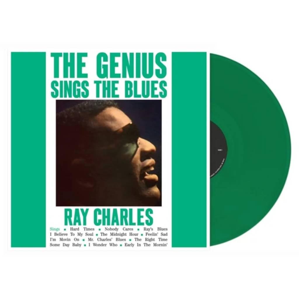 Vinyl Ray Charles - Genius Sings The Blues, Dol, 2019, Farebný zelený vinyl