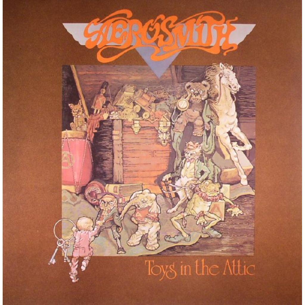 Vinyl Aerosmith - Toys in the Attic, Columbia, 2016