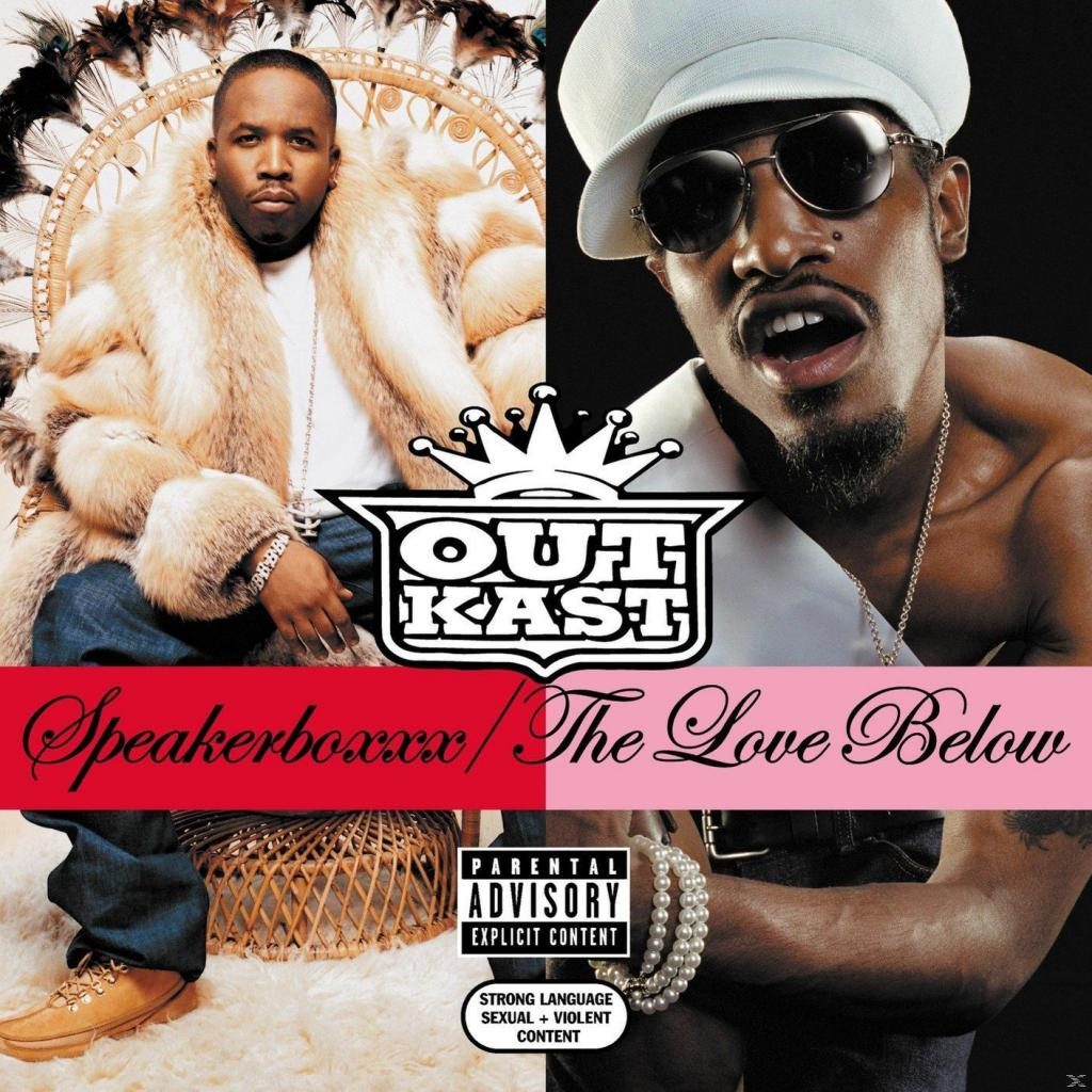 Vinyl Outkast – Spakerboxxx / The Love Below, Legacy, 2017, 4LP