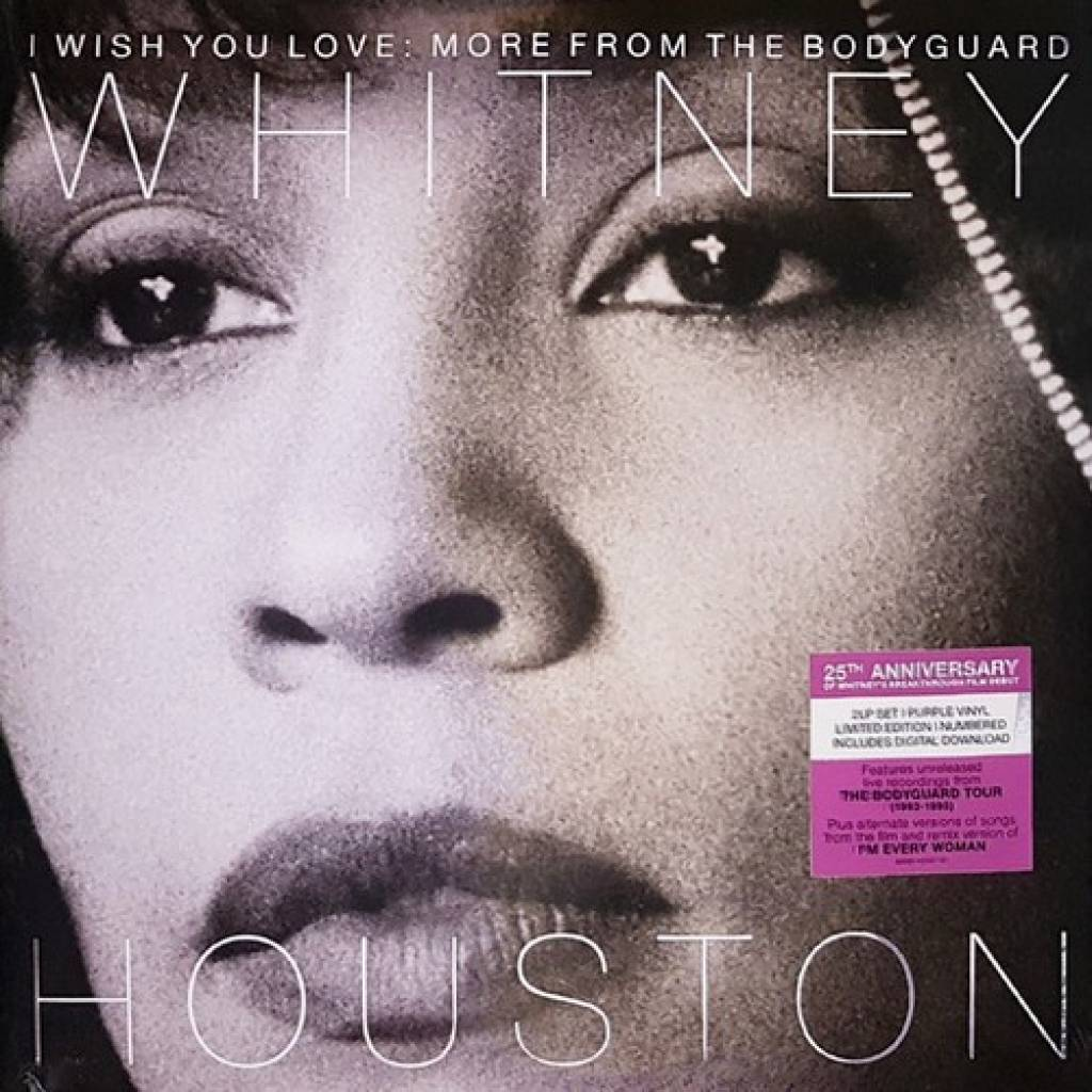 Vinyl Whitney Houston - I Wish You Love: More from the Bodyguard, Arista, 2018, 2LP, ružový vinyl