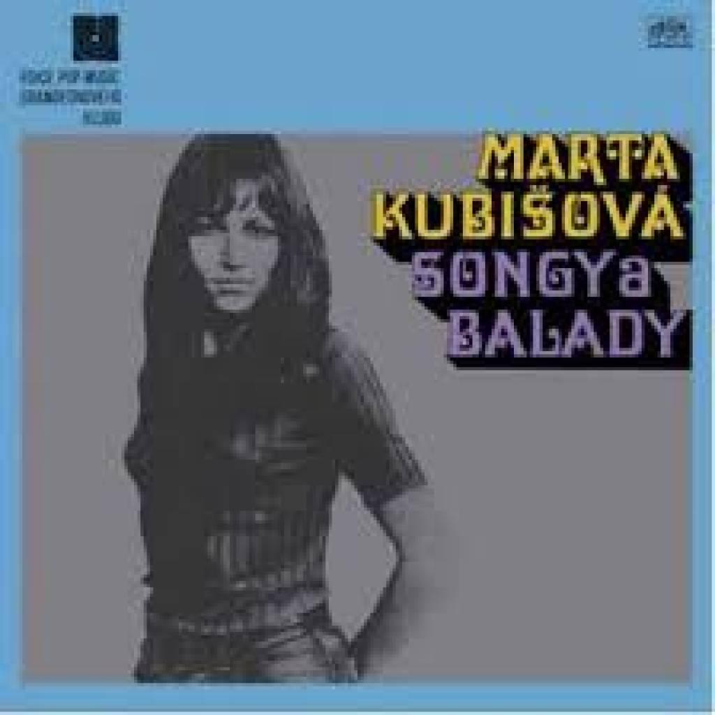 Vinyl Marta Kubišová - Songy a balady